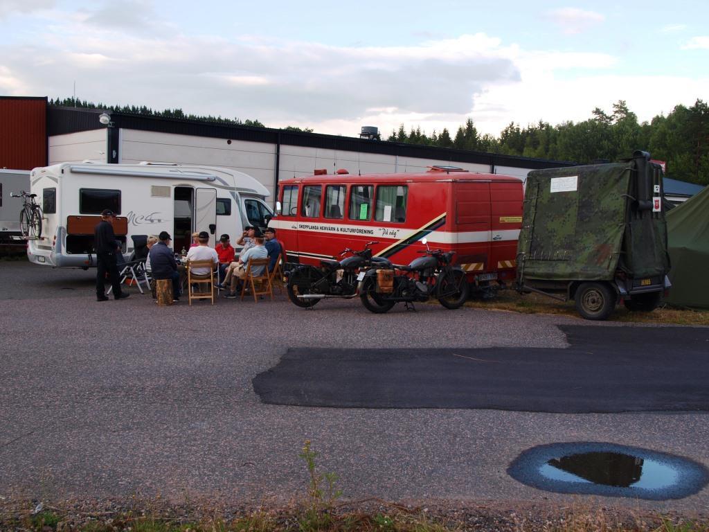 SHKF har ankommit till förläggningsplats.
