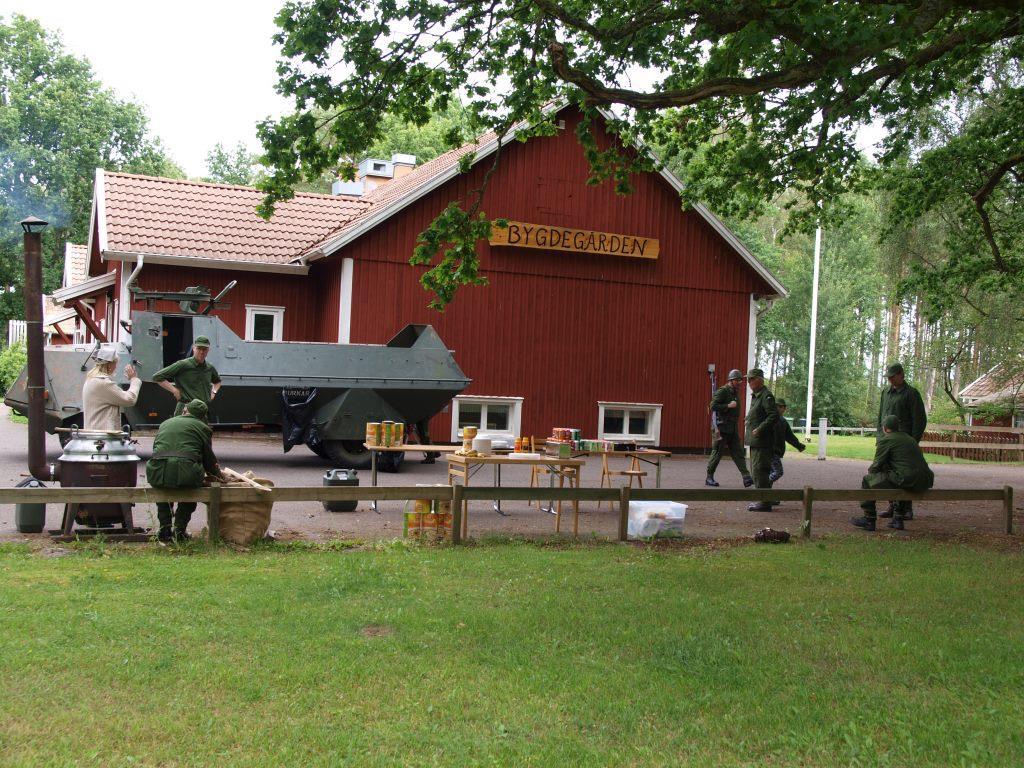 Ärtsoppa upplevdes av många deltagare som mycket exotiskt. En Brittisk deltagare hävdade att Svenska arméns mat vida utklassade den Brittiska.