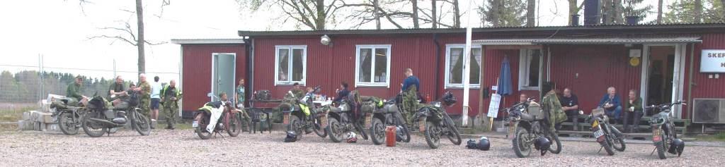 Deltagare och deras motorcyklar